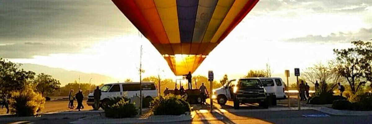 Hot Air Balloon Ride by Shane Corey